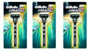 Gillette Mach3 Shaving Razor Pack of 3