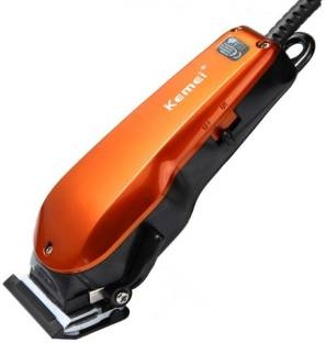 Kemei 9012 Cordless Beard Trimmer  Orange