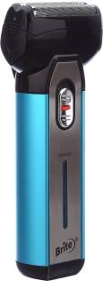 Brite BS-880 Rechargeable Shaver  Blue & Black