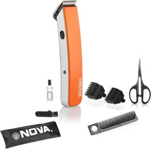 Nova NHT1047 Pro Skin Advance Rechargeable Cordless Beard Trimmer Orange