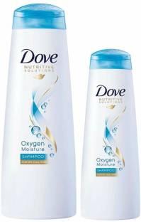Dove Oxygen Moisture Shampoo (340ml)
