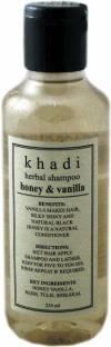 Khadi Honey and Vanilla Herbal Shampoo 210ml