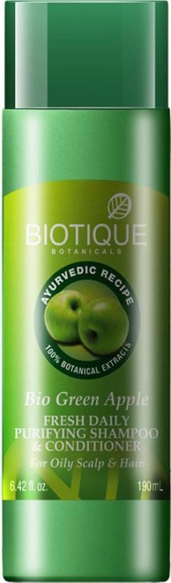 Biotique Botanicals Bio Green Apple Shampoo and Conditioner 190ml