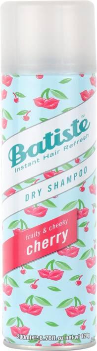 Batiste Instant Hair Refresh Fruity and Cheeky Cherry Dry Shampoo 200ml