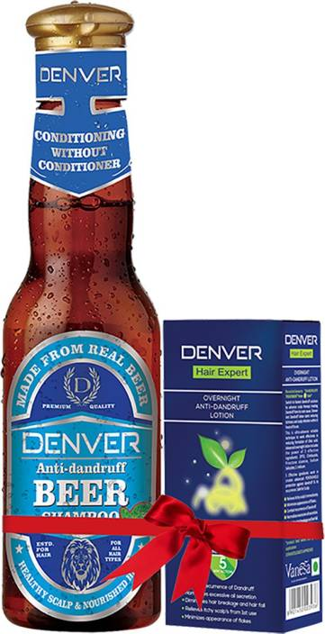 Denver Anti Dandruff Beer Shampoo, 200 ML