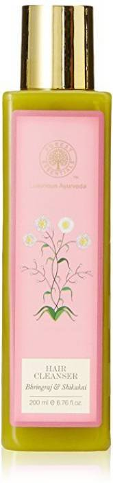 Forest Essentials Hair Cleanser, Bhringraj and Shikakai, 200 ml