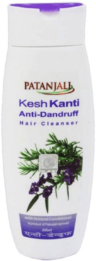 Patanjali Kesh Kanti Anti-Dandruff Hair Cleanser Shampoo 200ml