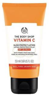 The Body Shop Vitamin C Glow Protect Lotion SPF 30 Pa+++ 50ml