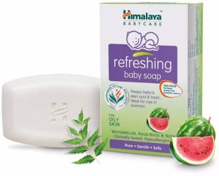 Himalaya Refreshing Baby Soap, 75 gm