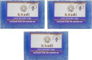 Khadi Pure Lavender Soap 125 GM Pack of 3