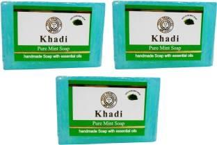 Khadi Pure Mint Soap 125 GM Pack of 3