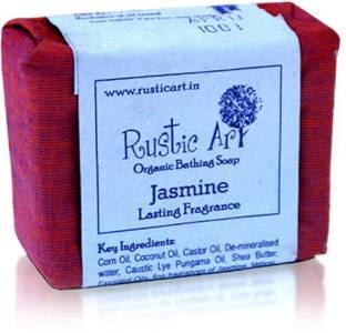 Rustic Art Organic Jasmine Soap 100 GM