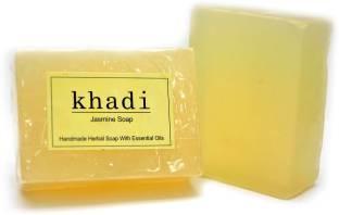 Khadi Jasmine Soap, 125 GM (Pack of 3)