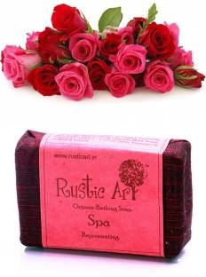 Rustic Art Organic Spa Soap 100 GM