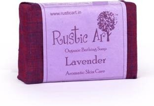 Rustic Art Organic Lavendar Soap 100 GM