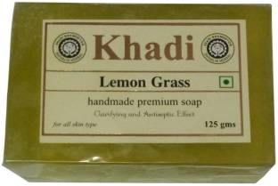 Khadi Lemon Grass Soap 125 GM