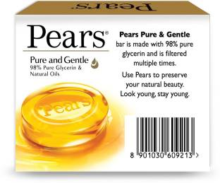 Pears Pure & Gentle Bathing Bar(125 g)