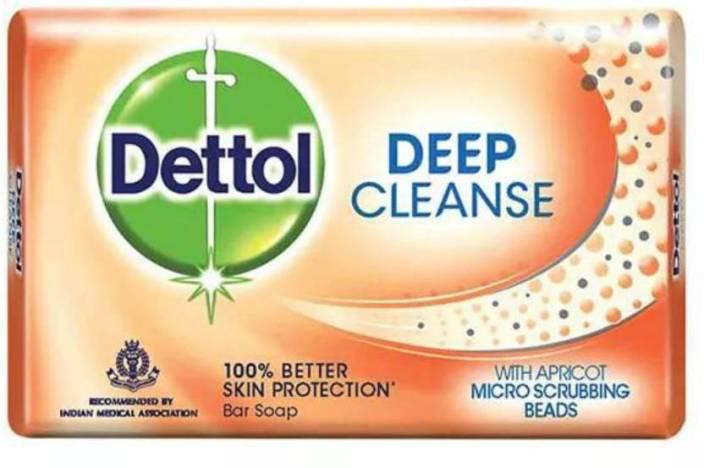 Dettol Deep Cleanse Soap, 75 GM
