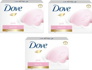 Dove Imported Made In EU Pink Beauty Cream Bar135 g Pack of 3