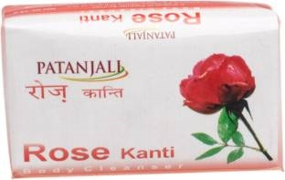 Patanjali Rose Kanti Body Cleanser Soap 75 GM