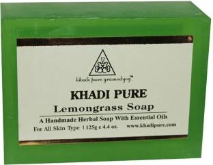 Khadi Pure Lemongrass Soap 125 GM