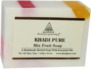 Khadi Mix Fruit Handmade Premium Soap Bar 125 GM