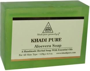 Khadi Pure Aloevera Soap, 125 GM