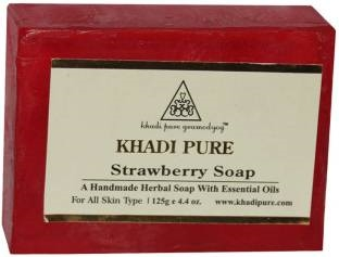 Khadi Pure Strawberry Soap 125 GM