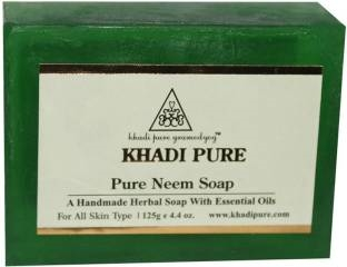 Khadi Pure Neem Herbal Soap 125 GM