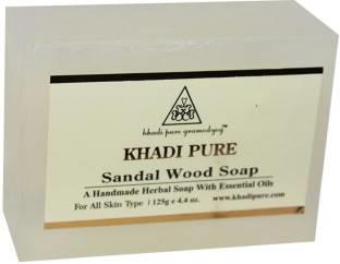 Khadi Pure Sandalwood Soap, 125 GM