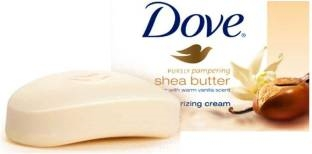 Dove Purely Pampering Shea Butter Bar 100 GM Pack of 4