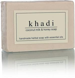 Khadi Coconut Milk & Honey Handmade Premium Soap Bar 125 GM