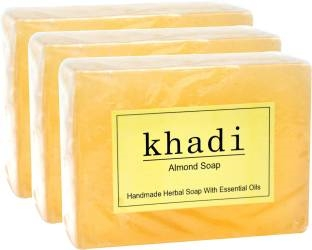 Khadi Almond Soap 125 GM Pack of 3