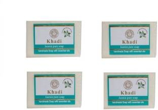Khadi Pure Jasmine Soap 125 GM Set of 4
