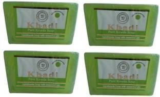 Khadi Pure Kewra Soap 125 GM Pack of 4