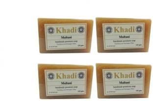 Khadi Multani Soap, 125 GM (Pack of 4)