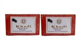 Khadi Shikakai & Reetha Bathing Bar 125 GM Pack of 2