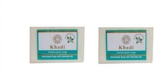 Khadi Pure Jasmine Soap, 125 GM - Pack Of 2