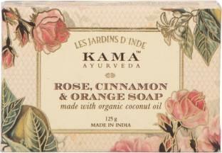 Kama Ayurveda Rose, Cinnamon & Orange Soap, 125 GM