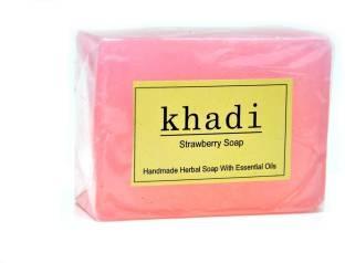 Khadi Strawberry Soap, 125 GM