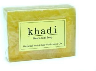 Khadi Neem Tulsi Soap 125 GM Pack of 2