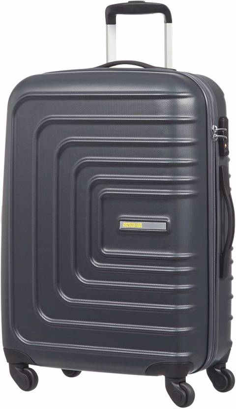 American Tourister Sunset Square Hard Luggage Strolley 67 cm Black
