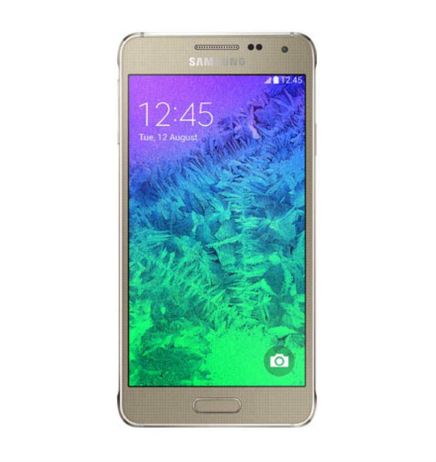 Samsung Galaxy Alpha Gold Mobile