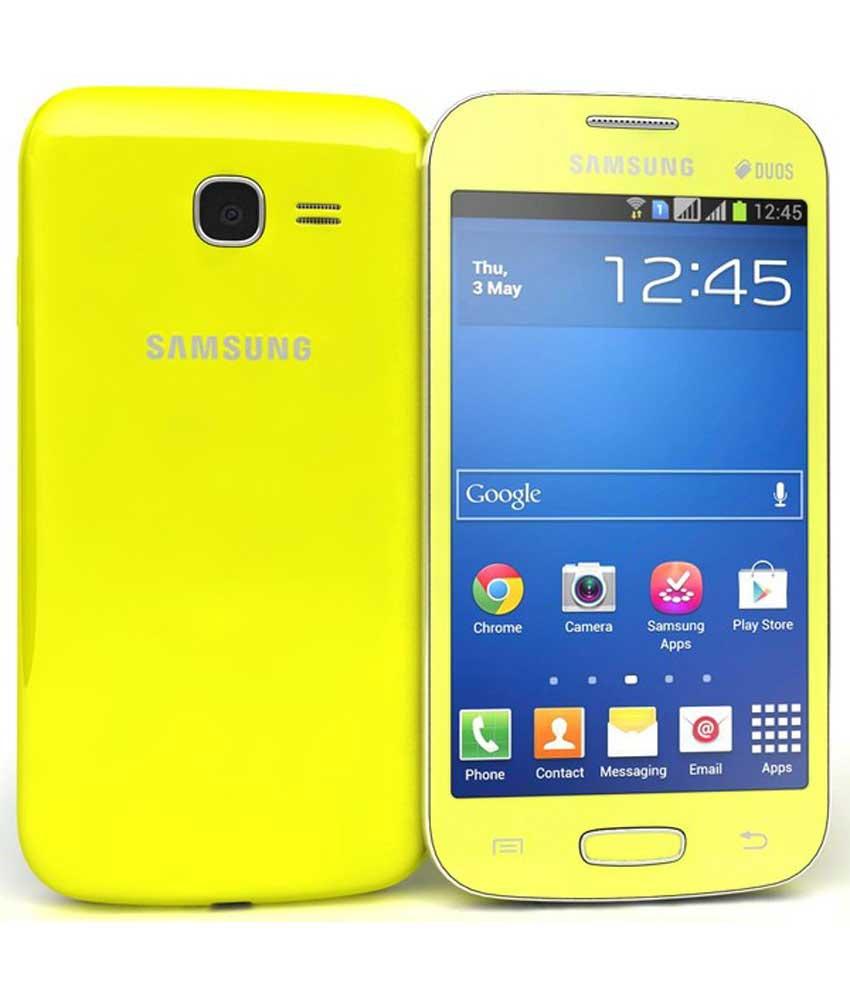 Samsung Galaxy Star Pro 4GB Green Mobile