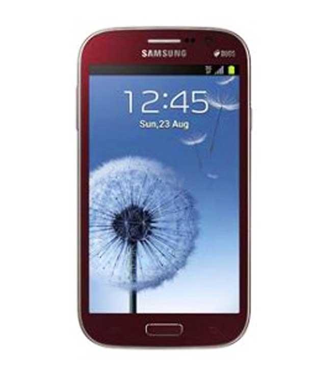 Samsung Galaxy Star Pro 4 GB Red Mobile