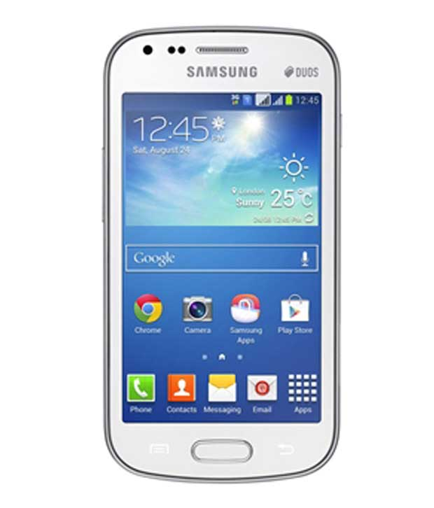 Samsung Galaxy S Duos 2 S7582 4 GB White Mobile