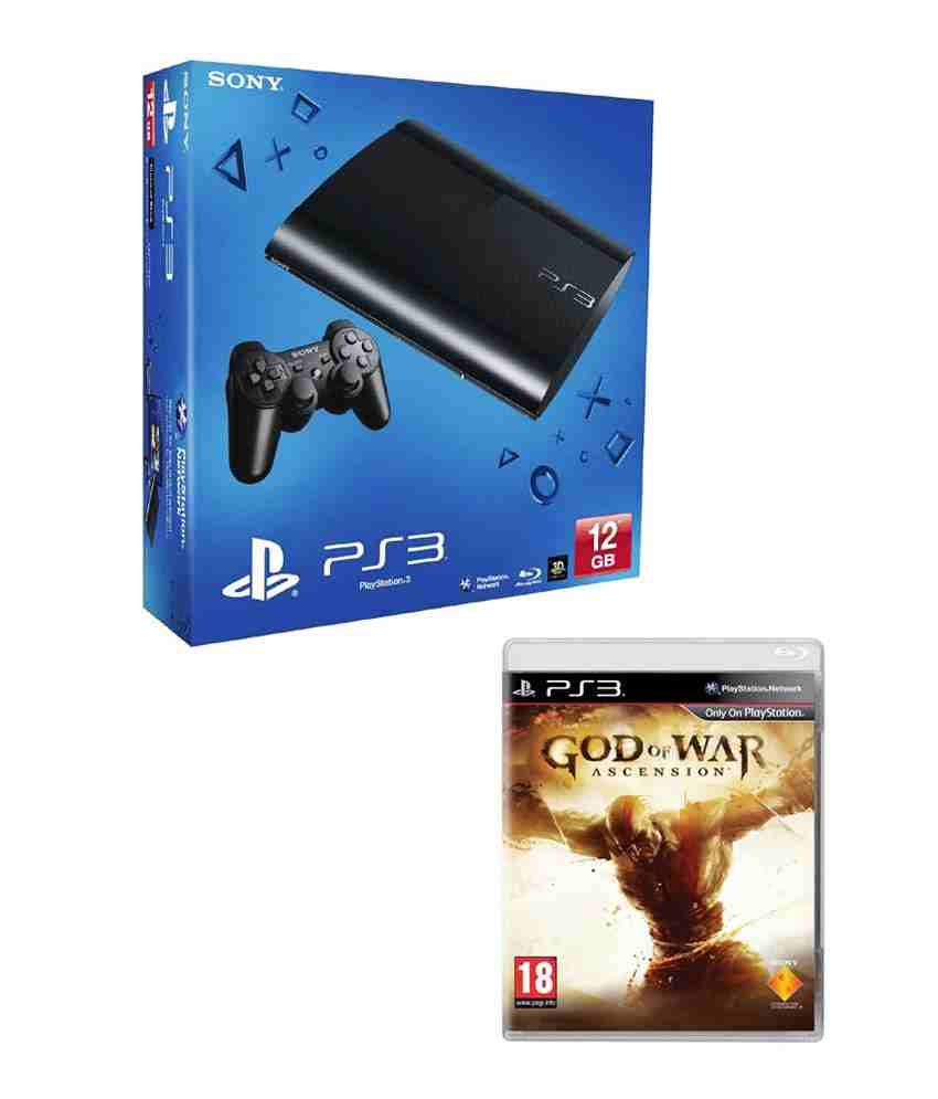 Sony Playstation 3 12 GB with God of War Ascension