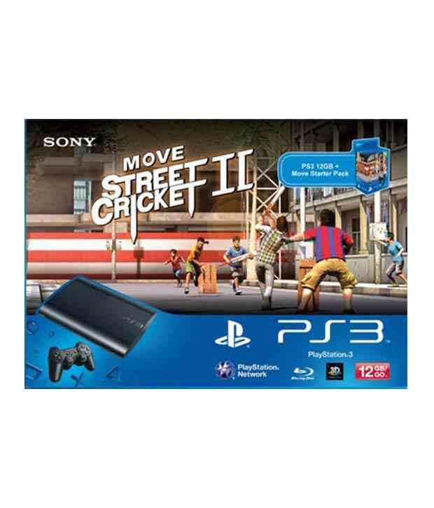 Sony Playstation 3 with Move Starter Pack