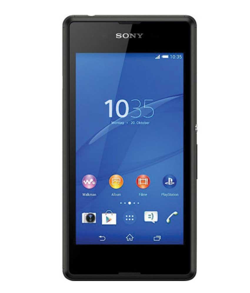 Sony Xperia E3 Dual Black Mobile