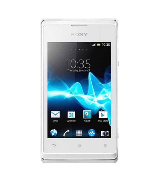 Sony Xperia E C1504 White Mobile